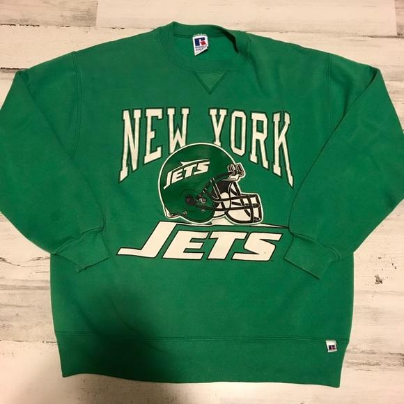 brand new ac014 dc2d2 Vintage New York Jets Sweatshirt Large
